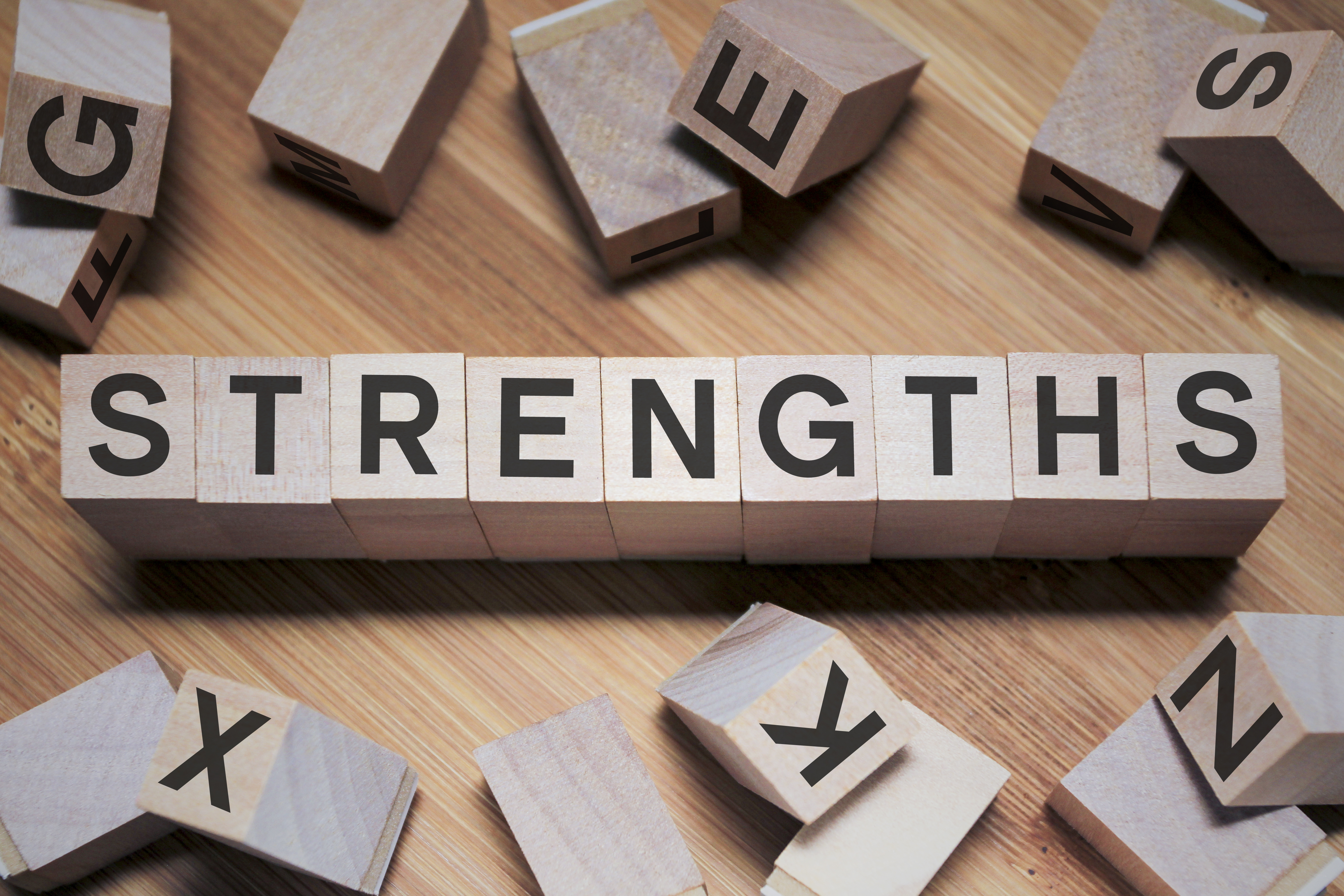 Using Strengths to thrive